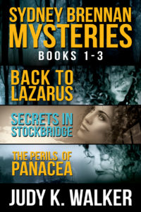 2D cover for the Sydney Brennan Mysteries Box Set, Books 1-3
