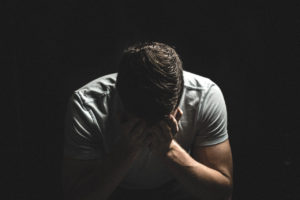 Man crying by Andrew E. Weber from stocksnap.io