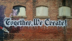 Together we Create mural by My Life Through a Lens from stocksnap.io