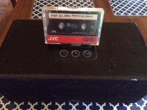 Cassette tape by Judy K. Walker