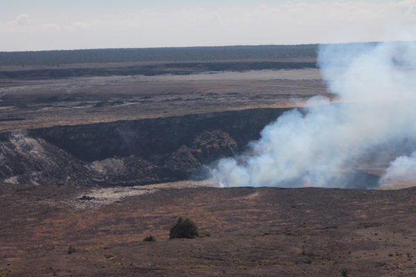 Kilauea Caldera by Judy K. Walker