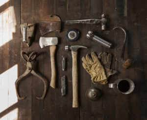Array of Hand Tools by Todd Quackenbush from stocksnap.io