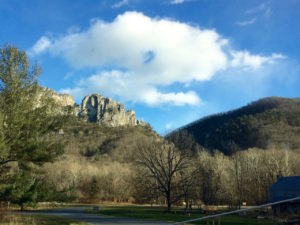 Seneca Rocks park entrance by Paul Normann