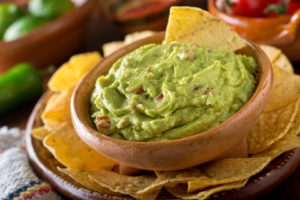 Guacamole dip bowl from dreamstime.com