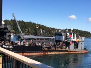 2017 Friday Harbor boat parade by Judy K. Walker