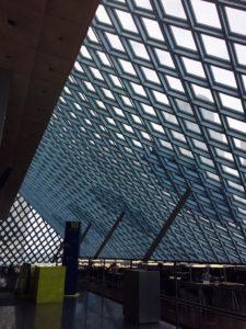 Seattle_library by Judy K. Walker