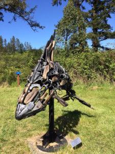 Carl Sean McMahon sculpture, photo by Paul Normann