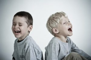 Laughing children