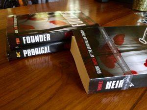Paperback proof for Heir, Dead Hollow Book 3, by Judy K. Walker