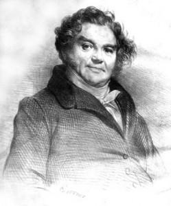 Portrait of Eugène François Vidocq (1775-1857) by Achille Devéria
