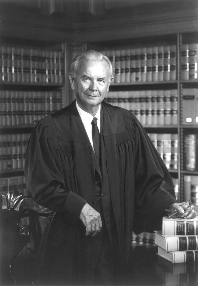 Supreme Court Justice William J. Brennan's official portrait