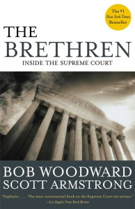 Cover of the book, The Brethren, by Bob Woodward and Scott Artmstrong