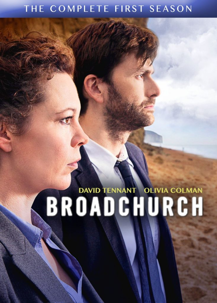 The cover for BBC drama Broadchurch, Season 1 DVD