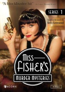 The cover of Season 1 of Fisher's Murder Mysteries