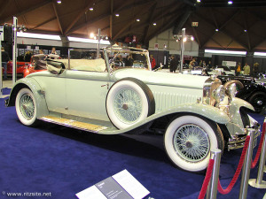 Cream-colored Hispano-Suiza T49 cabriolet 1929 by Cuspide2006 on wikimedia commons