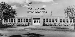 Archive photo of Wardensville High School, Hardy County, WV