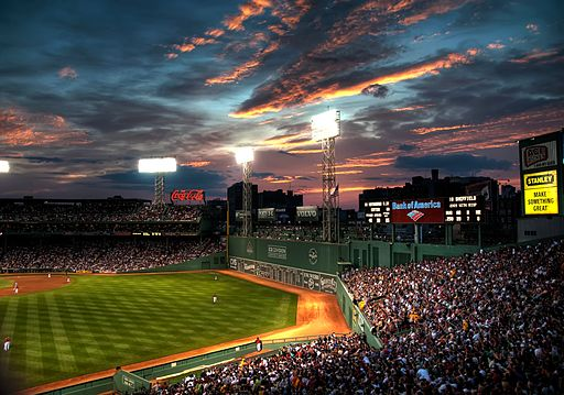 Fenway Park 2009 by werkunz1 on wikimedia commons