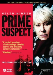 The Cover for Prime Suspect, The Complete Series