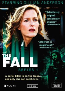 "The cover of the BBC TV show ""The Fall, Series One"""