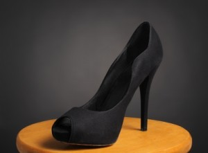 "Black ""Stiletto Shoe"" by Boaz Yiftach"