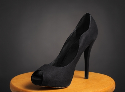 "Black ""Stiletto Shoe"" by Boaz Yiftach on freedigitalphotos.net"