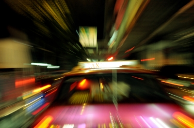 """Fast Car"" in a blur by bigjom from freedigitalphotos.net"
