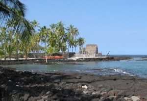 Puuhonua o Hanaunau by OldPine at wts wikivoyage (Own work) [Public domain], via Wikimedia Commons