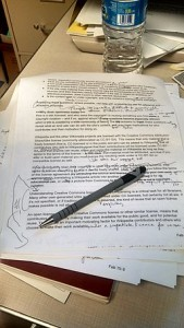 Example of copyedited manuscript by Phoebe from Wikimedia Commons