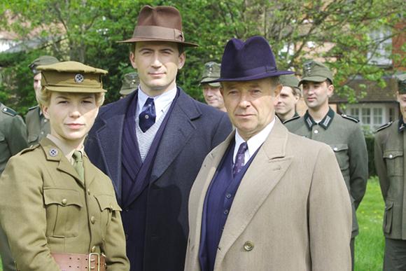 Stewart, Milner and Foyle together in Foyle's War Set 5 from www.foyleswar.com