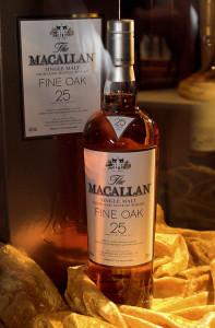 Bottle of Macallan Scotch by Karin Langner-Bahmann from Wikimedia Commons