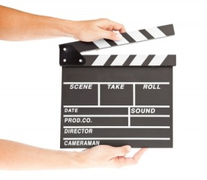 """Film Clapper Board With Space And Hand"" by FrameAngel from freedigitalphotos.net"