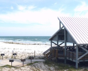 St George Island Park picnic shelter by Tim Ross from Wikimedia Commons