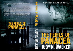 """Cover for the paperback version of the Sydney Brennan PI mystery """"The Perils of Panacea"""""""