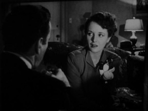 1941 Maltese Falcon trailer still from wikimedia commons