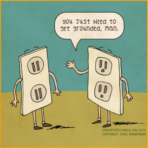 Get Grounded comic by Sara Zimmerman