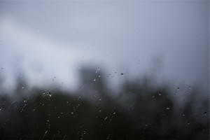 Raindrops on a blurred window by Damir Bosnjak from stocksnap.io
