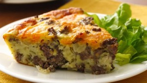 Betty Crocker's Impossibly Easy Cheeseburger Pie