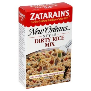 Zatarain's Dirty Rice Mix on Amazon