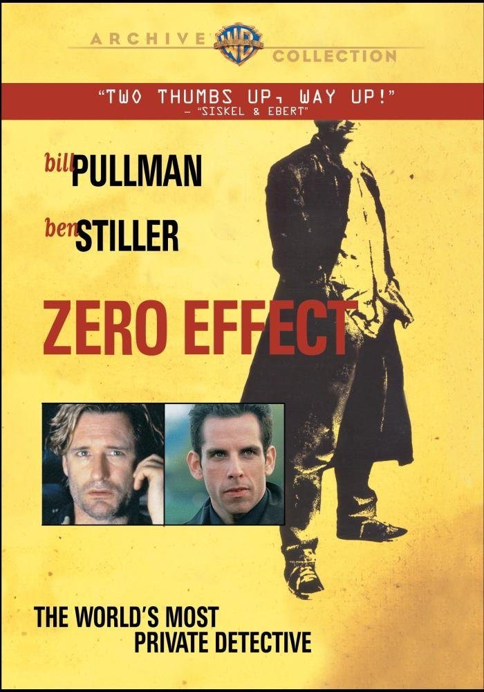 DVD cover for Zero Effect (1998)