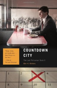 Countdown City by Ben Winters paperback cover on Amazon