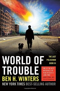World of Trouble by Ben Winters paperback cover on Amazon