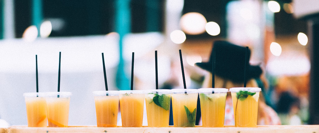 Row of Orange drinks by Roma from stocksnap.io
