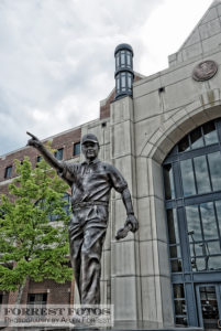 Bobby Bowden Statue outside FSU football stadium by Allen Forrest, Creative Commons