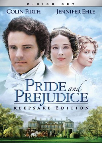 Pride and Prejudice DVD (featuring Firth and Ehle) on Amazon