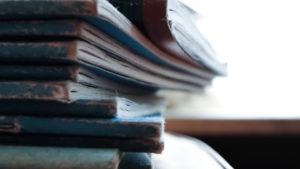 Book stack by John-Mark Kuznietsov from stocksnap.io