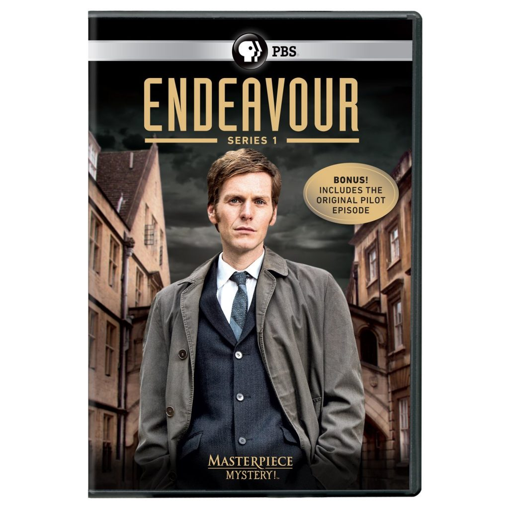 Endeavor, Pilot and Series 1, on DVD