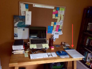 Writer's Desktop by Judy K. Walker