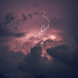 Storm clouds with lightning by Breno Machado from stocksnap.io
