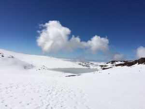 Alpine Lake Waiau by Judy K. Walker