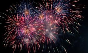 Pink fireworks by Dawid Zawiła from stocksnap.io